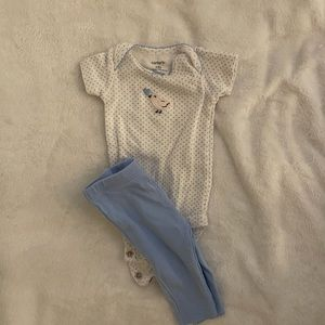 Baby bird outfit NB